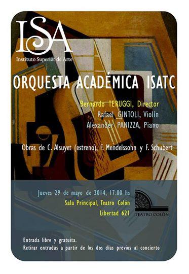 Mendelssohn con Gintoli y la Academica
